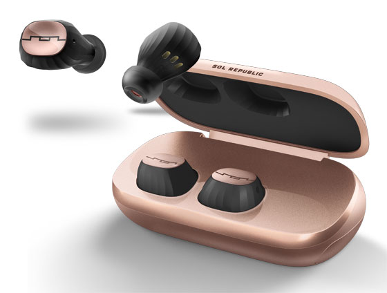 SOL-EP1195GD - SOL Amps Air 2.0 Bluetooth EarBuds - Rose Gold    (5)