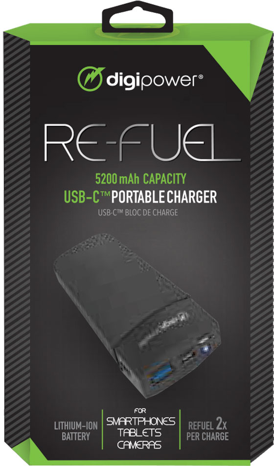 DP-RF-PBC52 - DIGIPOWER Type-C Powerbank 5200nAh with Flashlight  (2/12)